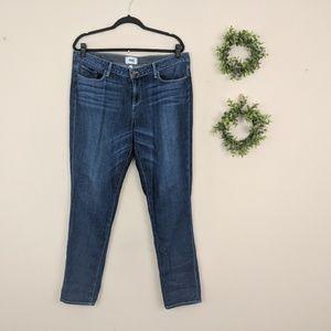 Paige Jimmy Jimmy Skinny Jeans Dark Wash 32